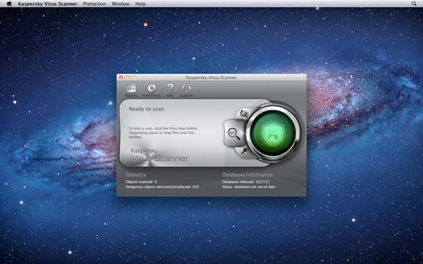 精简版卡巴斯基杀毒软件上架Mac App Store